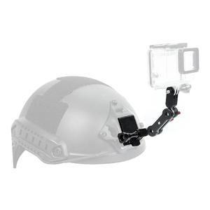 Image 5 - Adaptador de suporte nvg para capacete, suporte de alumínio para gopro hero 8 7 4 5 6 session yi sjcam eken câmeras esportivas de ação