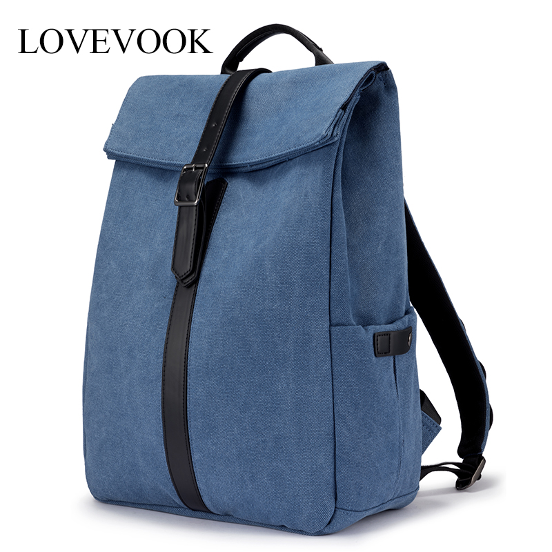 LOVEVOOK women <font><b>backpack</b></font> multifunctional laptop <font><b>backpack</b></font> <font><b>unisex</b></font> large <font><b>backpack</b></font> for travel/work/school canvas anti-theft bag pack image