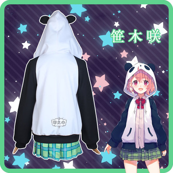 NIJISANJI Gamers Sasaki Virtual Idol Uniforms Cosplay Costume Free Shipping F 3