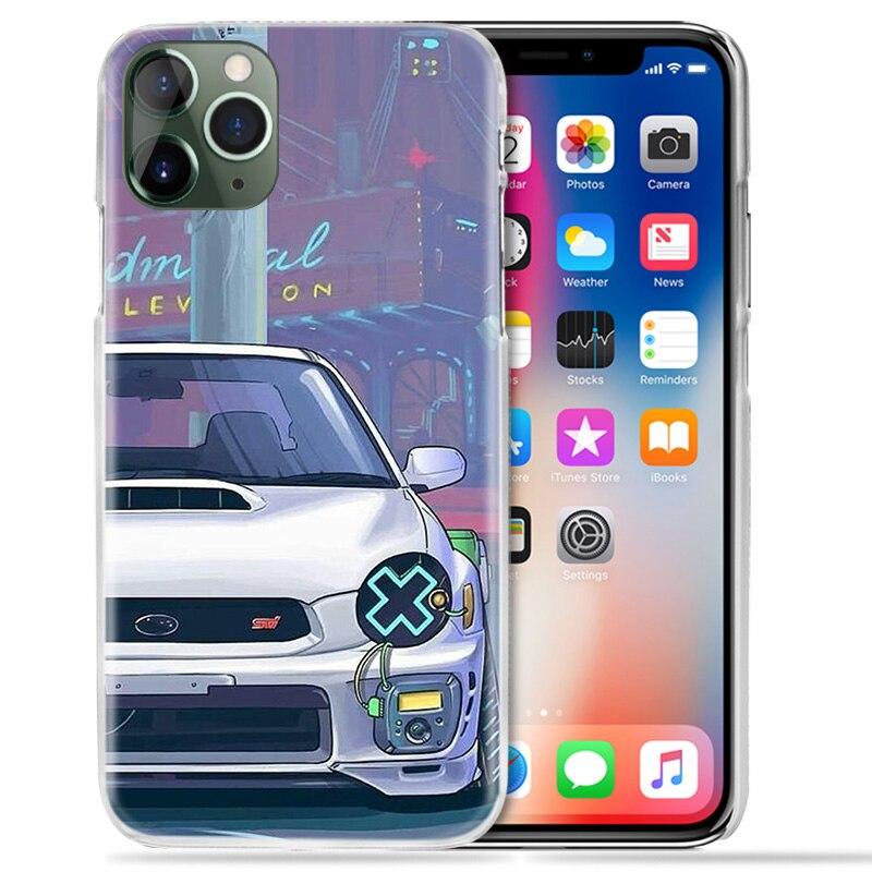 עבור apple מגניבים Vintage Cars Case עבור Apple iPhone 11 Pro XS מקס XR X 10 7 7S 8 6 6S פלוס + 5 SE 5S 4S 4 5C Hard PC טלפון Coque כיסוי Funda (3)