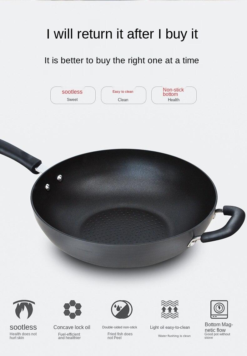 indução e fogão a gás especial geral do agregado familiar 32cm pan