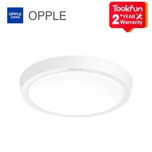 Image 1 - OPPLE IP44 su geçirmez lamba LED tavan ışık mutfak banyo balkon koridor PC akrilik tavan ışıkları 6W 12W yuvarlak armatür