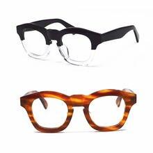 1960's Япония ручная работа итальянская ацетатная очки для