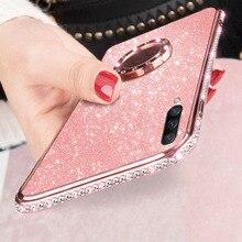 Glitter Diamond Bling Soft Case For Xiaomi
