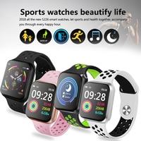 ساعة ذكية الرجال ضغط الدم جهاز تعقب للياقة البدنية النساء Smartwatch مراقب معدل ضربات القلب ساعة رياضية ل فون IOS الروبوت-في الساعات الذكية من الأجهزة الإلكترونية الاستهلاكية على