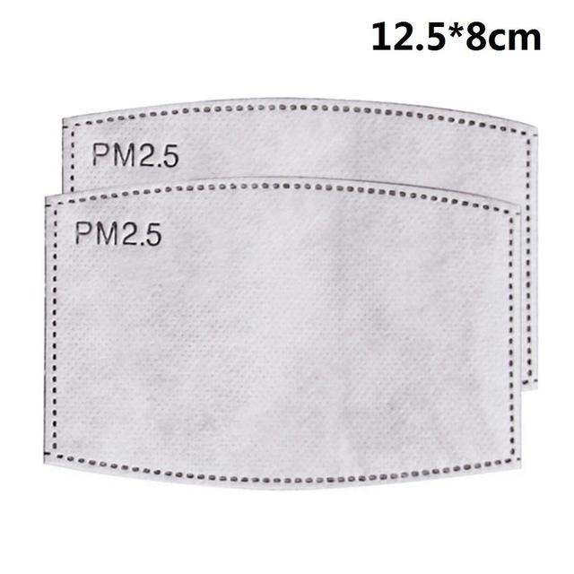 PM2.5 Black mouth Mask anti dust mask Activated carbon filter Windproof Mouth-muffle bacteria proof Flu Face mask Care s 5