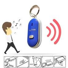 LED anti-perso Key Finder trova localizzatore portachiavi portachiavi fischio bip controllo del suono durevole Auto Car Styling accessori Auto
