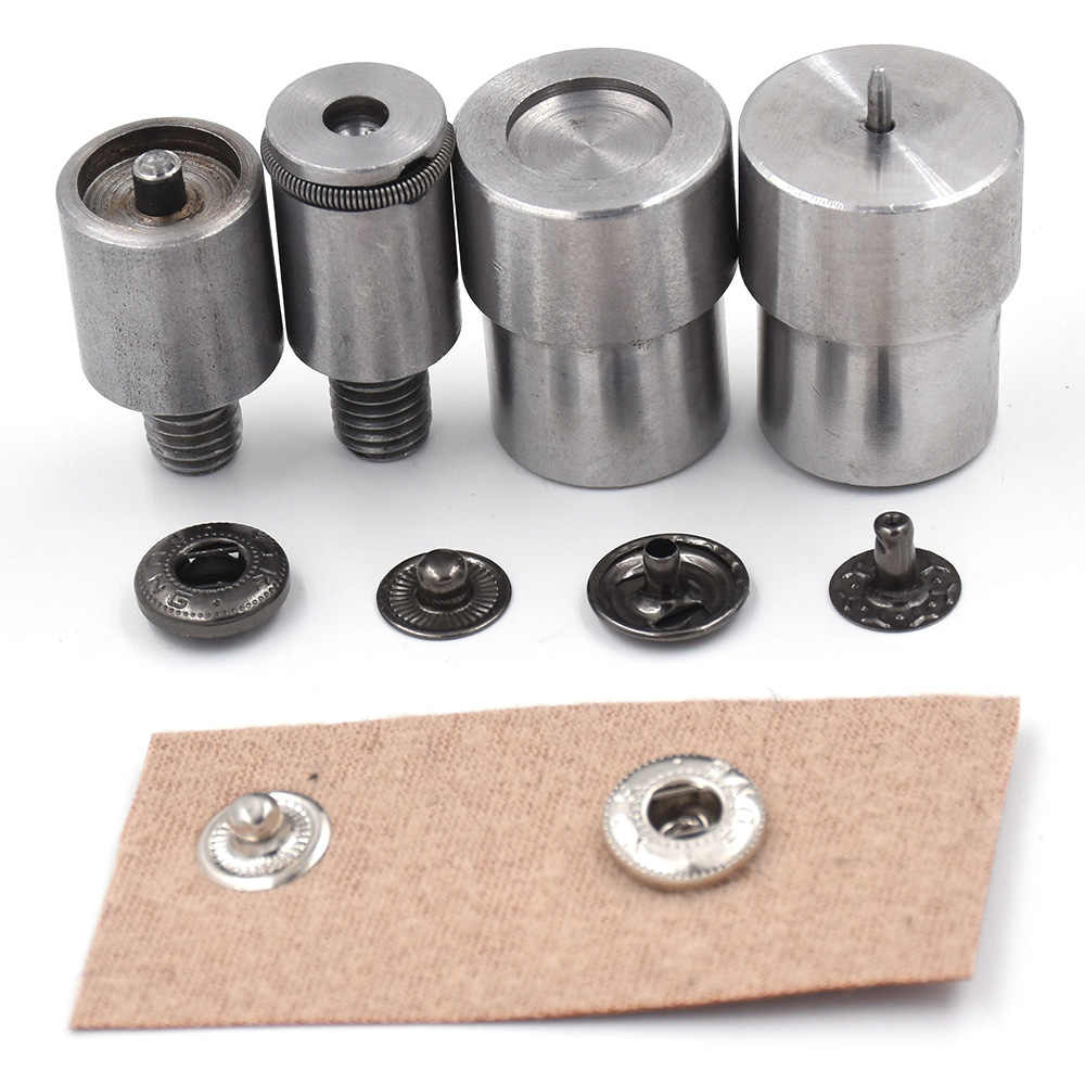 Spring Snap Fastener Button Die Mold for 12.5mm Dia Hand Press Machine Setter