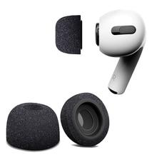 Air ฟองน้ำซิลิโคนหน่วยความจำโฟมหู Buds สำหรับ Apple Airpods Pro หูฟังอุปกรณ์เสริมหูฟังหูฟังหูฟัง