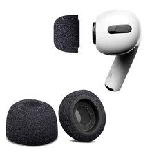 空気スポンジシリコン低反発イヤーチップ芽 apple の airpods プロヘッドフォンアクセサリー交換イヤホン耳芽インナーイヤー型