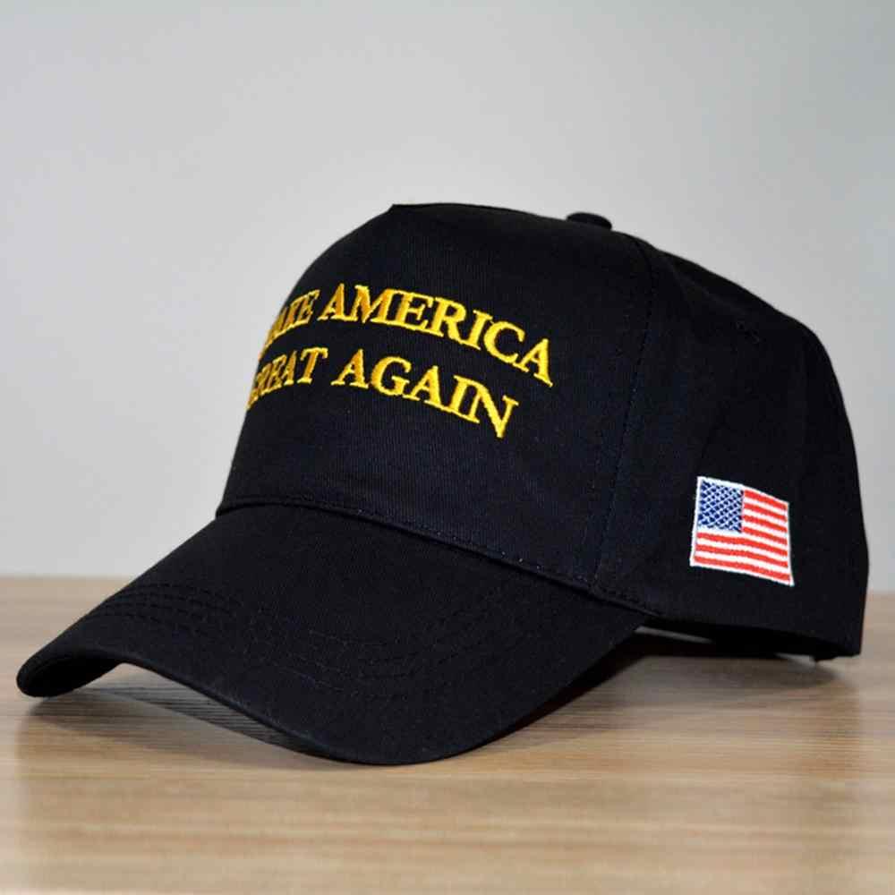 Trump หมวก USA FLAG หมวกปรับเบสบอลหมวกฤดูร้อนหมวก Unisex ผู้หญิงผู้ชายเบสบอลหมวก Snapback เบสบอลหมวก
