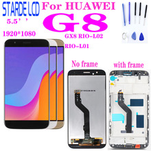 цены For Huawei G8 GX8 RIO-L01 RIO-L02 RIO-L03 D199 LCD Display Touch Screen Digitizer Assembly Replacement With Frame maimang 4