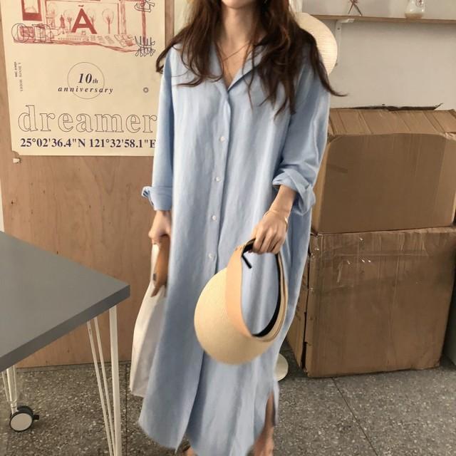 long shirt dress comfy and fresh 5