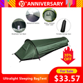 Ultralight Tent Backpacken Tent Outdoor Camping Slaapzak Tent Lichtgewicht Enkele Persoon Tent