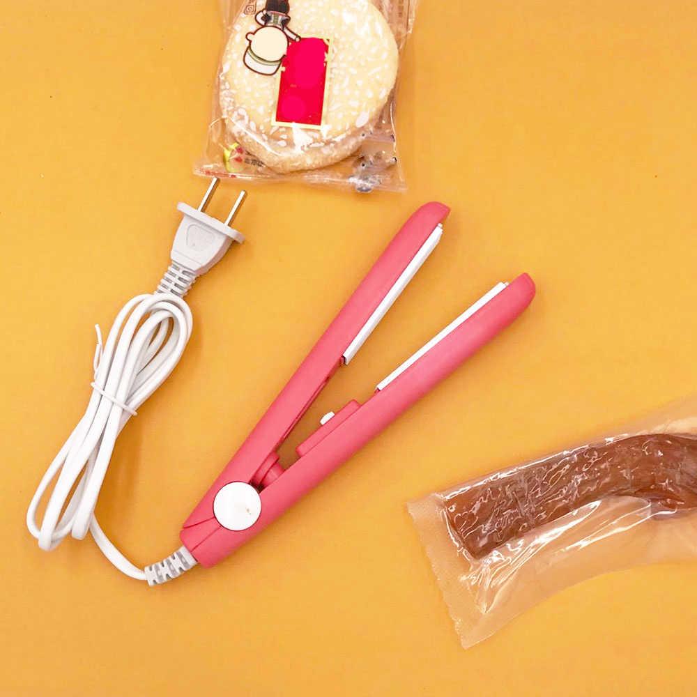 Creative מעשי ביתי Multifuncational מזון ואקום אוטם תיק קליפ כף יד מיני נייד חשמלי חום איטום מכונה