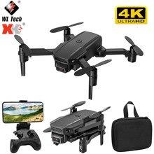 2021 nova kf611 mini zangão 4k hd grande angular câmera 1080p wifi fpv drones câmera quadcopter altura manter zangão câmera rc zangão brinquedos