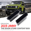 Smabee дверная ручка коробка для хранения для Suzuki Jimny 2019 2020 подлокотник коробка передняя дверь аксессуары контейнер держатель лоток автомобил...