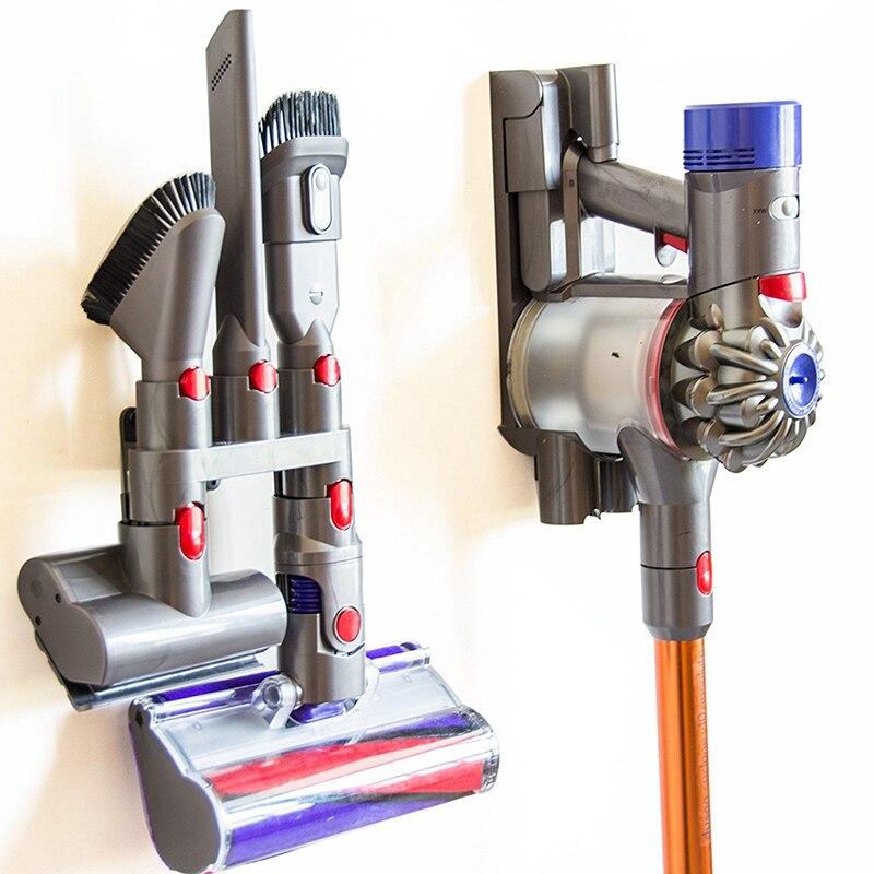 Brush Stand Tool Storage Holder Base For Dyson V7 V8 V10 V11 Vacuum Cleaner 100% Brand New And High Quality