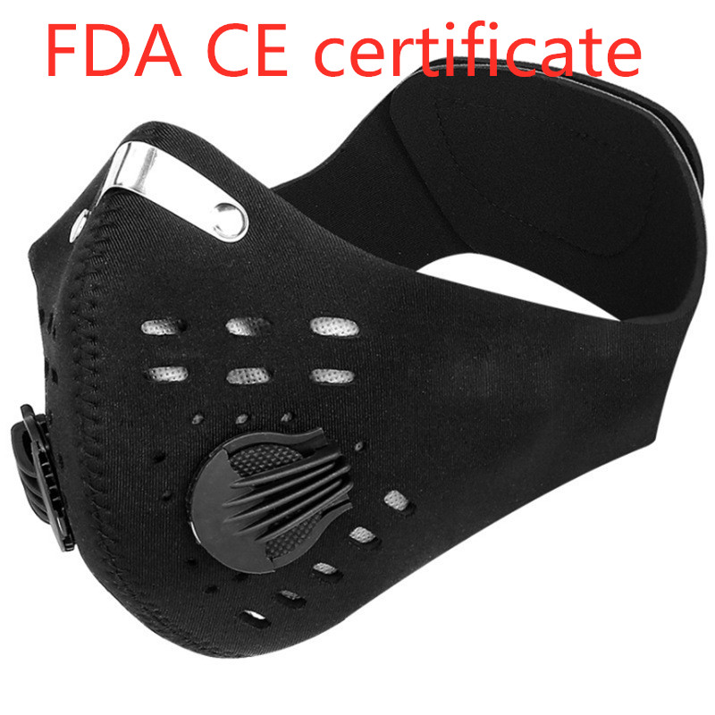 Mask Anti Haze Mask Breath Valve Anti-dust Mouth Mask Filter Respirator FFP3 KF95 N95 Mouth-muffle Warmth Mask Face Dust Mask