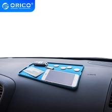 ORICO anti-dérapant Silicone voiture Support de téléphone pour tableau de bord tapis de rangement voiture Smartphone Support antidérapant coussin anti-dérapant