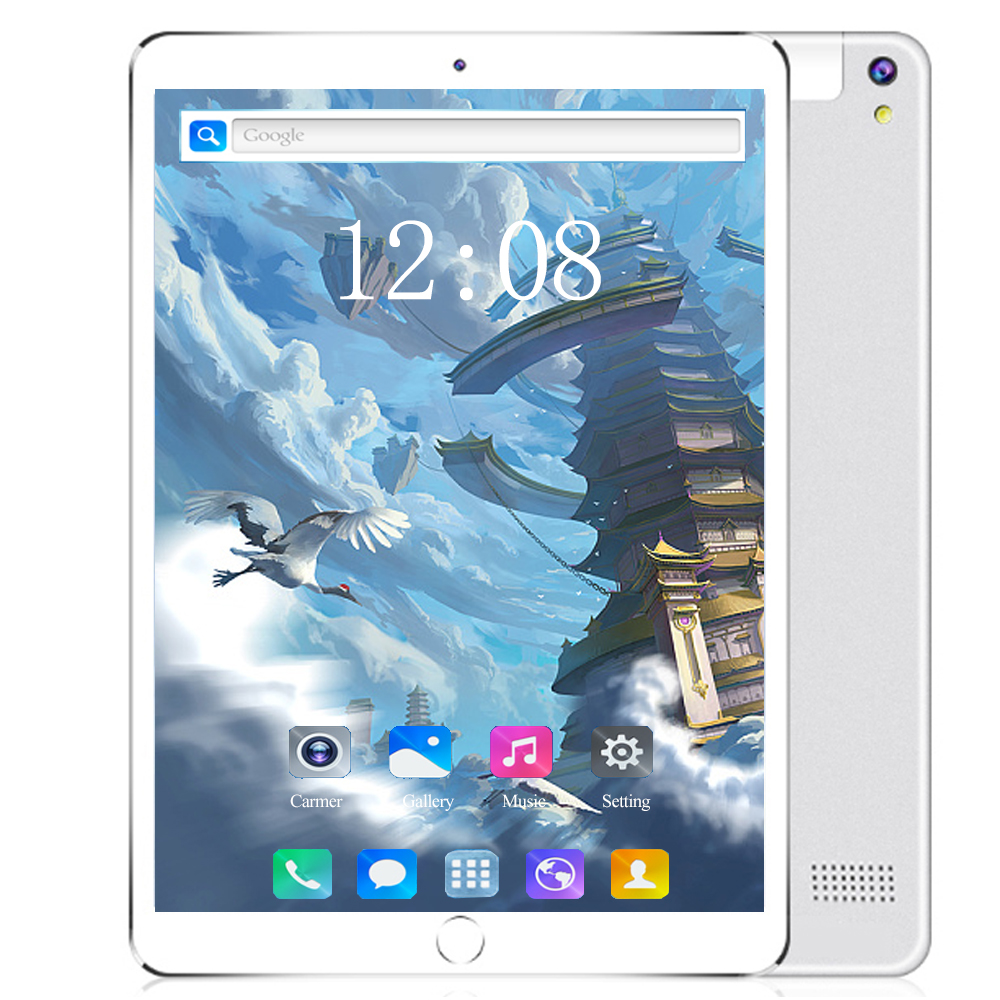 2020 10 Inch Android 8.0 Tablet Pc 10 Core 1920*1200 IPS 6GB/128GB 3G/4G LTE Phone Table Dual SIM Card 5.0MP Pc Tablets 10.1
