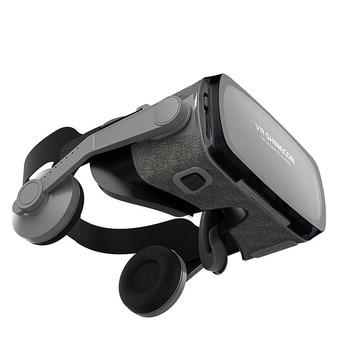 2019 Novos Óculos VR3D Fone de Ouvido Óculos 3D Uma Máquina VR Equipamento Profissional Suporte Dispositivo Sem Fio Bluetooth 1