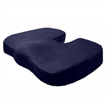 Ergonomic Design Orthopedic Coccyx Pillow Memory Foam Seat Cushion for Chair Wheelchair Students Worker Office Chair Cushion