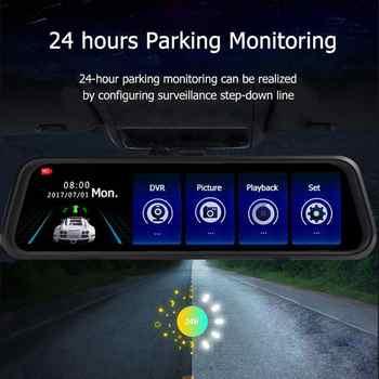 "ANSHILONG 10\"" Car Rear view Mirror DVR Monitor HD 1280x720 Camera + Backup Camera Dual Lens Recording - SALE ITEM - Category 🛒 Automobiles & Motorcycles"