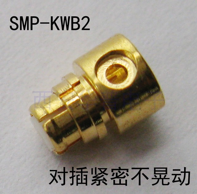 SMP-KWB2 RF Connector SMP Female RF Coaxial Connector For Semi-flexible Semi-steel Cable Such As 086