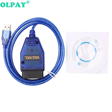 Car USB VAG-COM 409.1 Vag Com 409Com vag 409 kkl OBD2 Diagnostic Cable Scanner Scan Tool Interface For V W