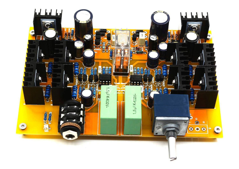 Amplificatore DIY in KIT per cuffie ad alta impedenza H0b1698e960754b8795b5e036e3e9645bx