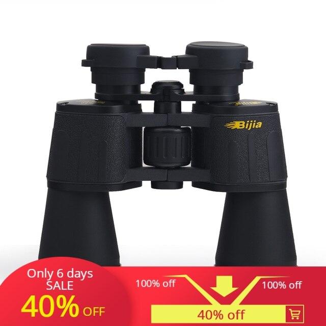 BIJIA Neue Taktische 7x50 große durchmesser Fernglas Refraktor Teleskop Bereich Gläser Für Jagd Schießen