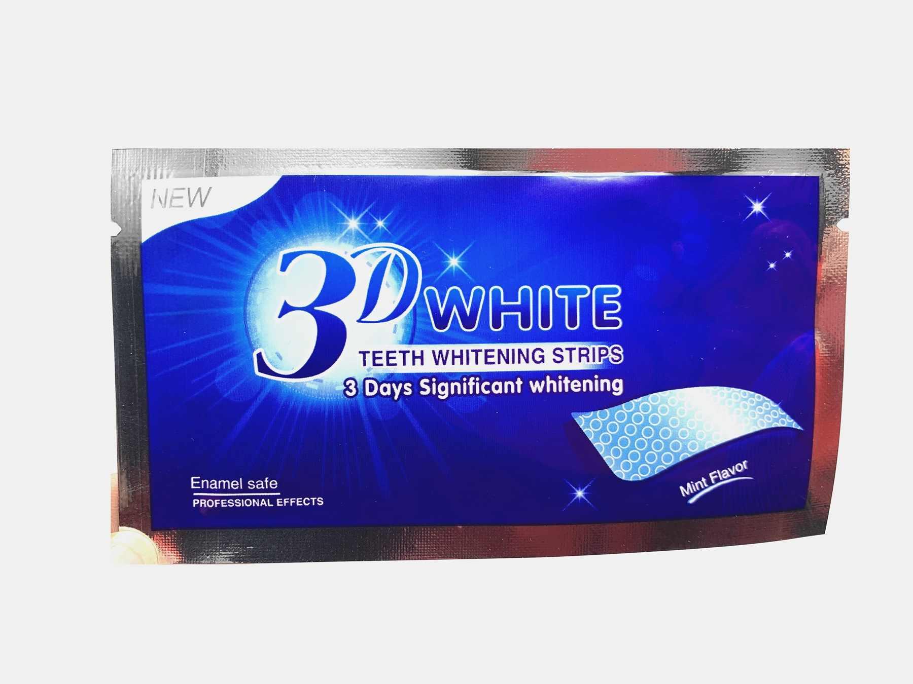 Tiras de Cuidado Oral, pasta blanqueadora de dientes, blanqueamiento de dientes, menta, 3 tiras blancas de belleza, blanqueamiento amarillo, artículo