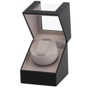 Watch-Winder Jewelry Collection Display-Box Transparent-Cover Mechanical-Rotation Luxury-Holder