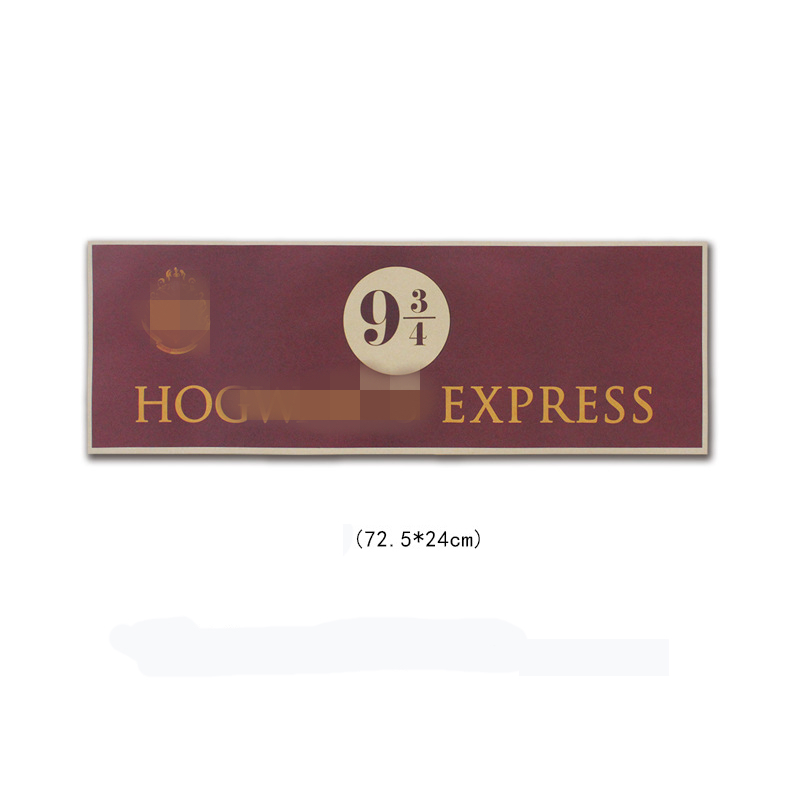 HP Hogwart Express Platform 9 3/4 (nine And Three Quarters)  Poster 1 Pcs