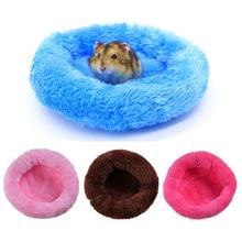 Suministro para mascotas, de invierno con forro polar de cama suave conejillo de indias, jaula de animales pequeños, Mini esterilla para hámster, cama para rata, cama para hámster, sofá para casa de hámster, erizo