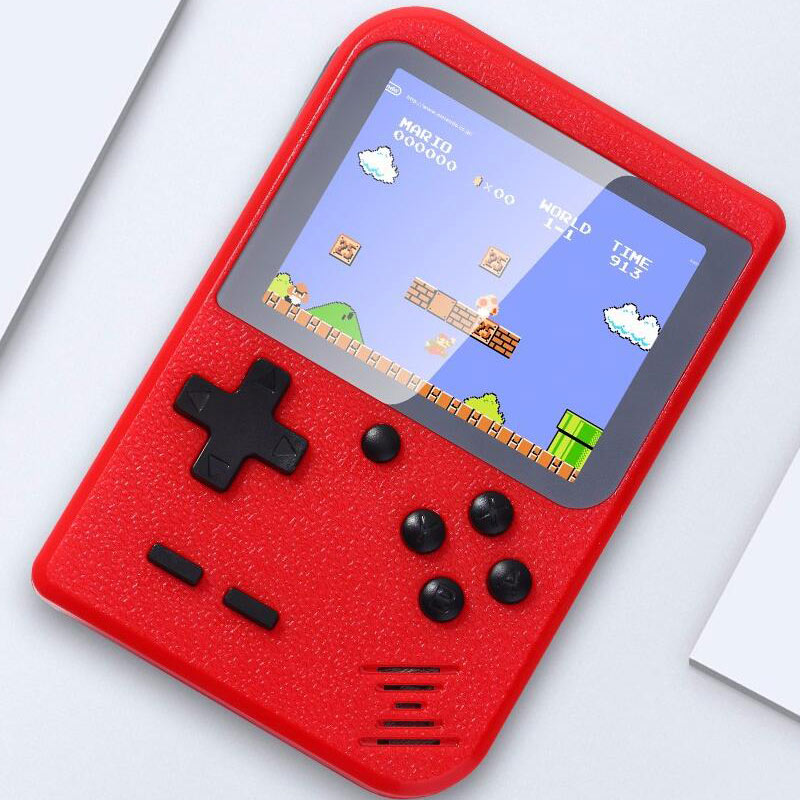 Tetris Game Console Retro Game Box 400 In 1 Mini Interactive Toys  For Kids TV Video Game Tamagochi Virtual Pet Game Player