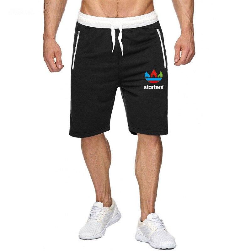 OIMG Summer Fashion Men's Sports Casual Cotton Shorts Five Points Beach Short Pant Multicolor Streetwear Chores Para Hombre