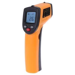 Цифровой инфракрасный термометр gm320 Бесконтактный инфракрасный термометр измеритель температуры Промышленный пирометр IR Point Gun -50 ~ 380