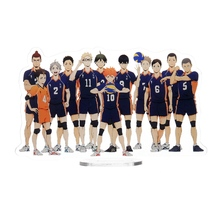 1 Pcs Anime Haikyuu!!  Volleyball Teenager Haikyu!! Hinata Shoyo Figure Model Toys Desktop Table Decoration