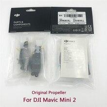 1/2/4 paires d'origine DJI Mini 2 hélices avec vis pièce de rechange pour Mavic Mini 2 lames de remplacement en Stock