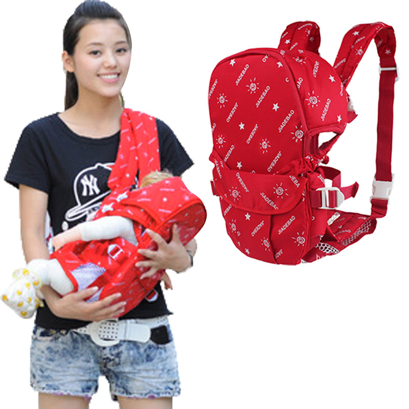 2020 Multifunctional Front and Back Baby Comfort <font><b>Backpack</b></font> Sling image