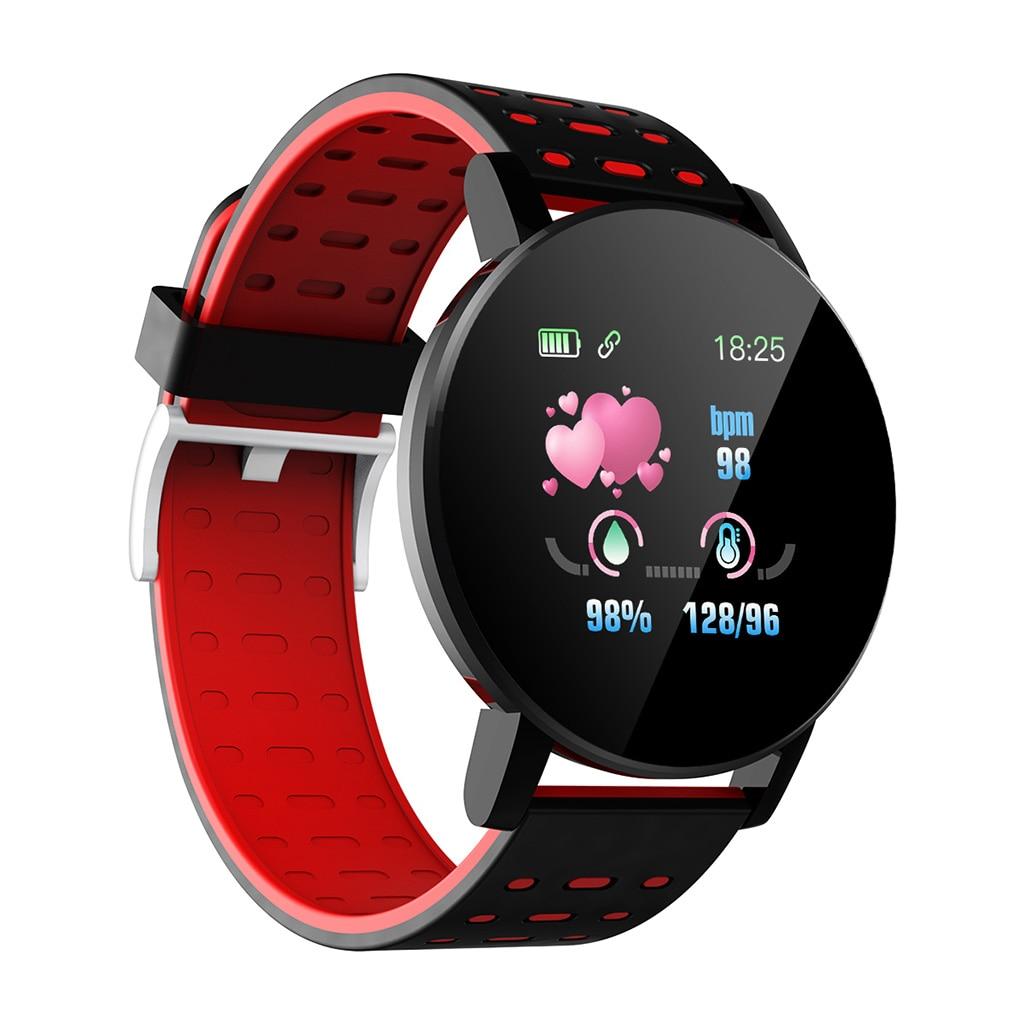 Bracelet intelligent Bracelet femmes hommes Sport Fitness Tracker montre Bluetooth 4.0 Bracelet pour iPhone Android Windows système Microsoft 7