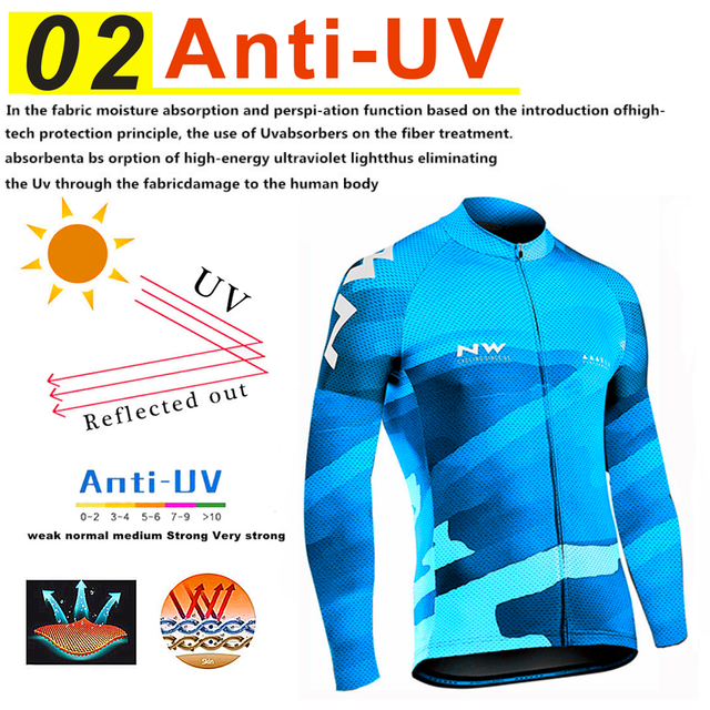 2019 Northwave Pro Team Winter Cycling Clothing Breathable Ropa Ciclismo Long Sleeve MTB Bike Clothes Outdoor Sports Clothing