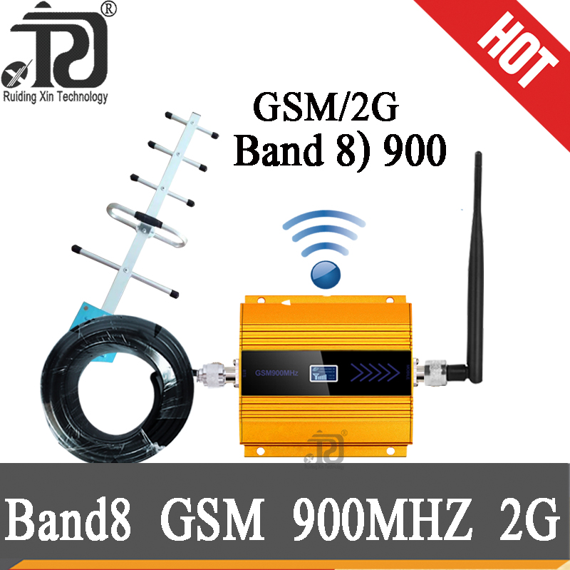 Gsm 900mhz 2g Cellphone Signal Booster 68dB Gain Repeater UMTS 900MHZ 3g Mobile Signal Booster GSM 900 MHz 3G Amplifier