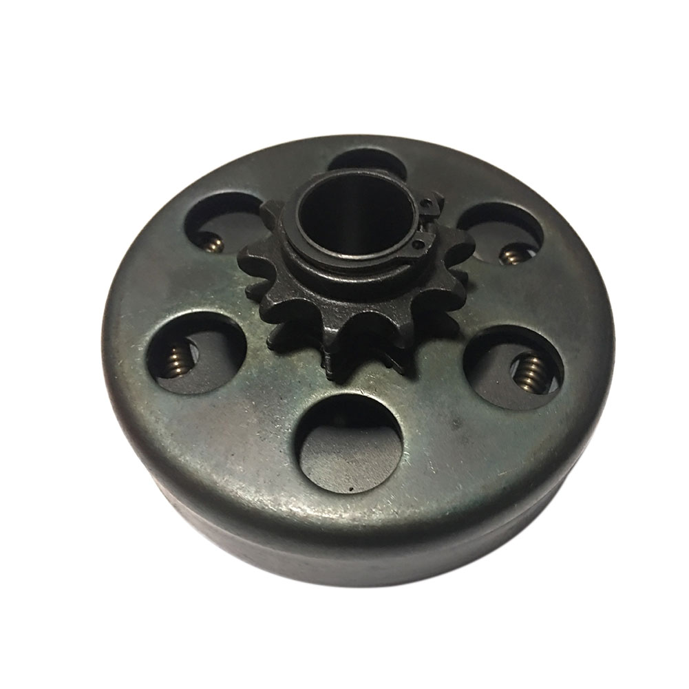12 Tooth 19mm Durable Centrifugal Clutch Go Kart Parts Mini Bike Coupling Professional Motorcycle Easy Install Buggy Auto Metal