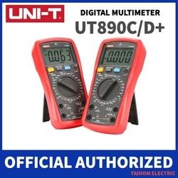 UNI-T UT890C UT890D+ Digital Multimeter 6000 Counts Current AC DC V Capacitance Resistance Tester True RMS LCD Display NCV