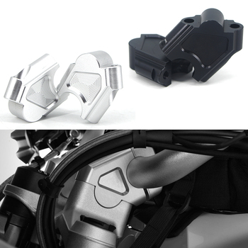 For BMW F800GS F800GT F 800 GS/GT 800F GS Motorcycle Handlebar Riser Extend Handle Bar Mount Clamp Adapter Aluminum Alloy 28MM for bmw f800gs 2008 2017 2016 laser logo f800 gs motorcycle accessories handle bar clamp raised extend handlebar mount riser