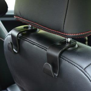 Multifunction Car Seat Back Hooks Hanger Headrest Mount Storage Hook Storage Car Bag Auto Coat Hanger 1PC