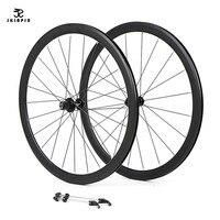 알루미늄 합금 2 봉인 된 베어링 40mm 바퀴 자전거 바퀴 부품 clincher 700c 도로 자전거 wheelset